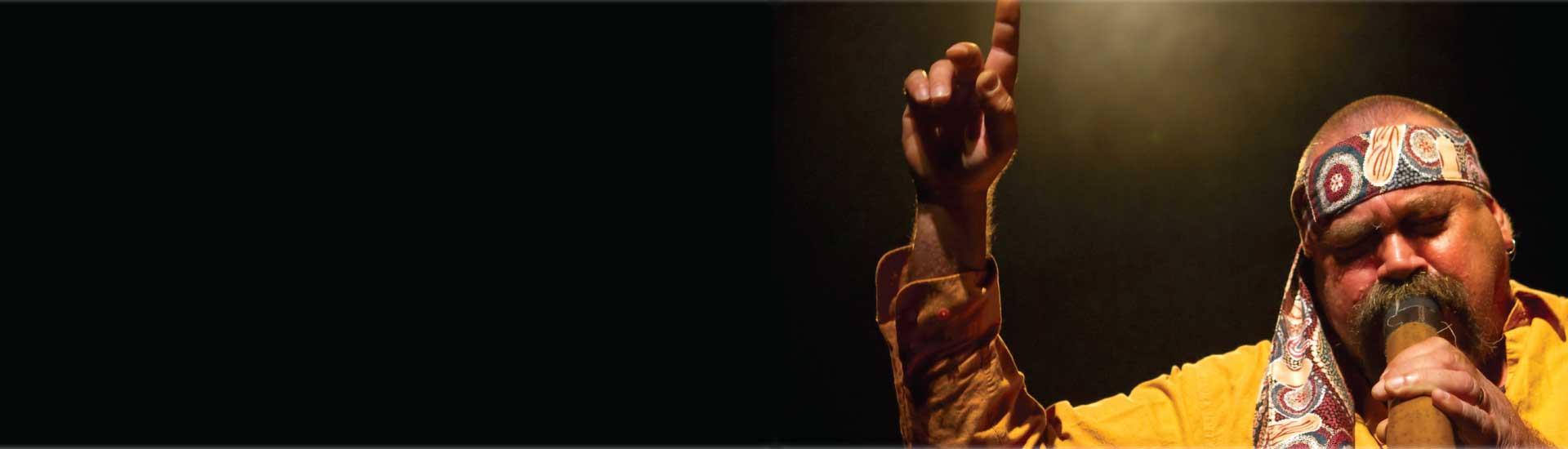 Mark Atkins, Didgeridoo Artist, Aboriginal storyteller, aboriginal artist, aboriginal culture, cully fest, outback and aboriginal folk festival, easter school holidays 2016, cunnamulla